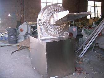 不锈钢多功能齿爪式粉碎机