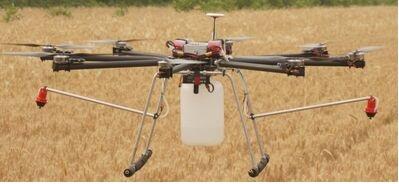 专业农药喷洒植保无人飞机