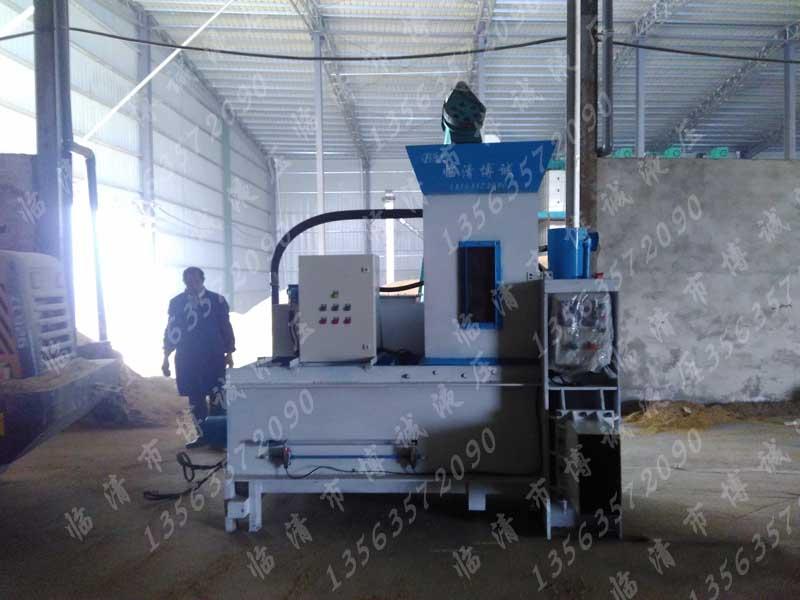 供应谷壳稻壳木屑打包机