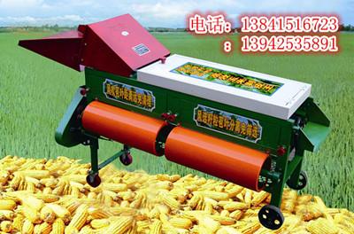 双风桶玉米剥皮机