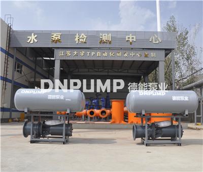 漂浮型潜水轴流泵