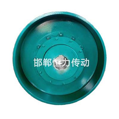 带制动轮鼓形齿式联轴器