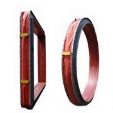 XB圆矩形风道纤维织物补偿器