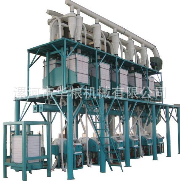 6机组石磨小麦加工面粉机械