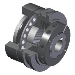 GQ-D 型定位钢珠型安全离合器