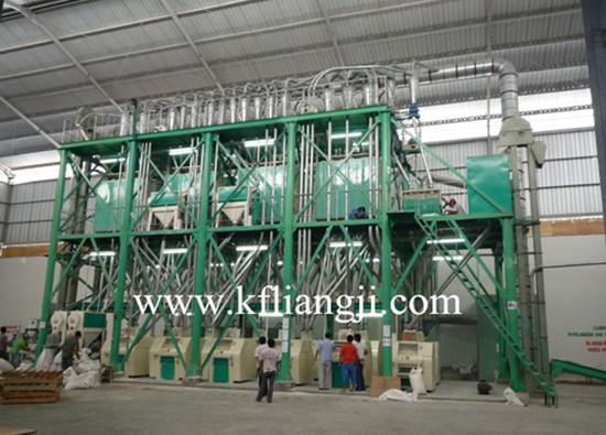 日产3-800吨面粉加工设备