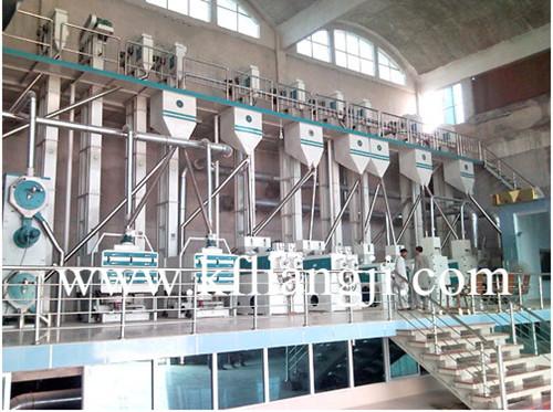 日产3-800吨大米加工设备碾米机