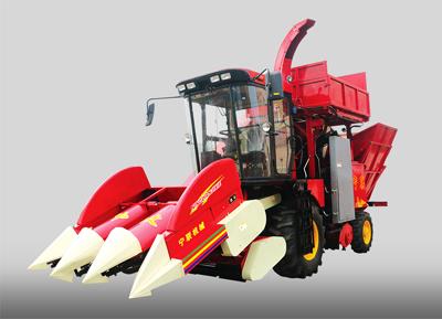 4YZQB-3HYS自走式穗茎兼收玉米收获机