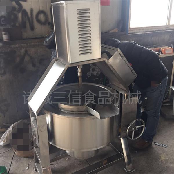 电加热馅料刮边搅拌夹层锅