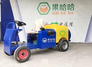果哈哈G6S自动行走式果园打药机