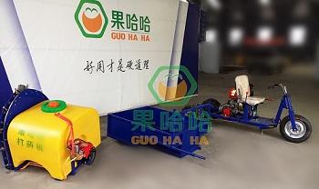 果哈哈G6D自走式果园打药机