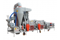 双风选双比重复式小麦种子精选机