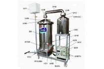 新型环保电(气)加热酿酒设备