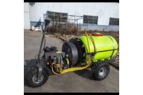 橘子橙子风送式喷药机 自走式高压打药机 电动打药机生产厂家