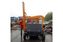出售护栏打桩机 多功能一体式护栏打桩机优惠
