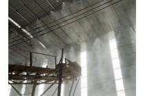 搅拌站料场大棚喷雾降尘系统喷雾喷淋降尘设备
