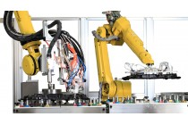 机器人自动涂胶机 - 大连华工