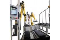 发动机绝缘密封设备-机器人自动涂胶机