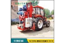 华豫6寸反循环钻机 拖拉机改打井机 打桩机设备