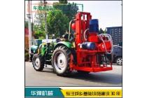 华豫正反循环5寸钻机 农用车载正反循环打井机
