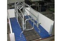 大连母猪欧式防压分娩产仔猪保育床铸铁塑料漏粪地板